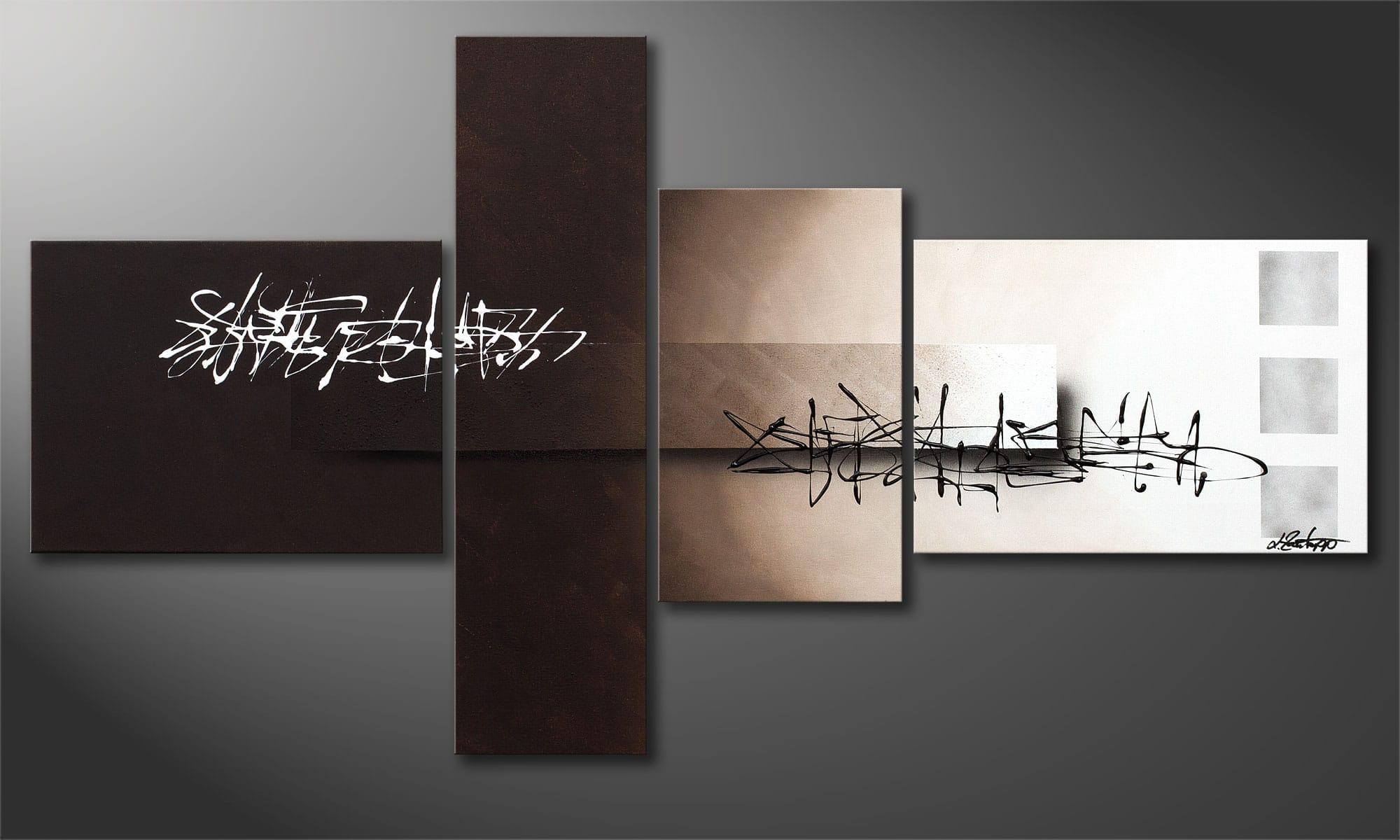 Tableau abstrait : je transforme mon salon en musée