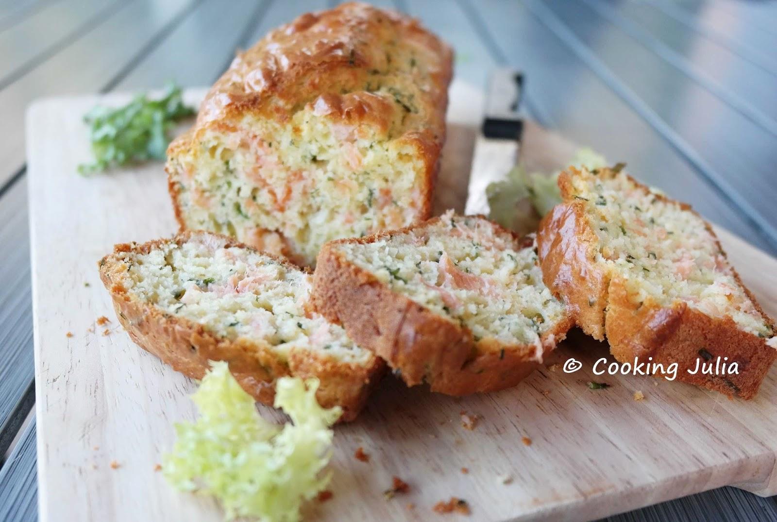 Recette Cake Au Saumon Fume De Sophie